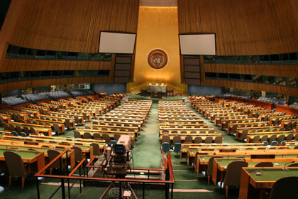 United Nations General Assembly, New York 2010